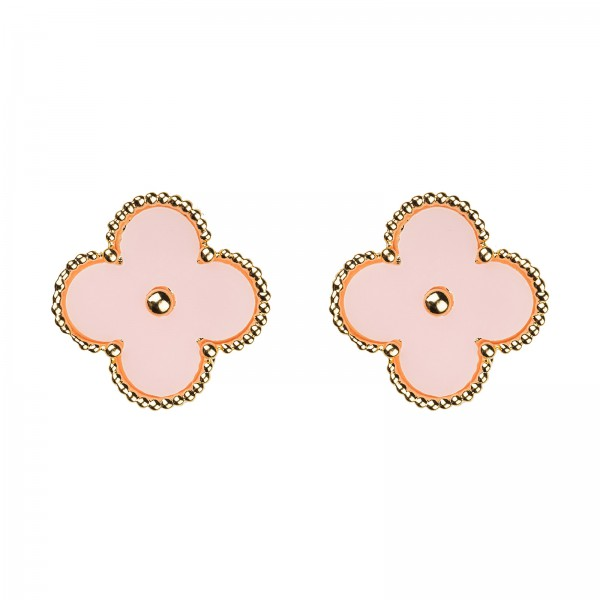 """Ohrringe """"Flower Girl"""" - Rosa"""