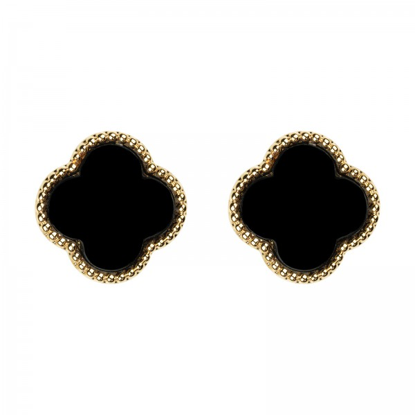 "Ohrringe ""Black One"" Gold"