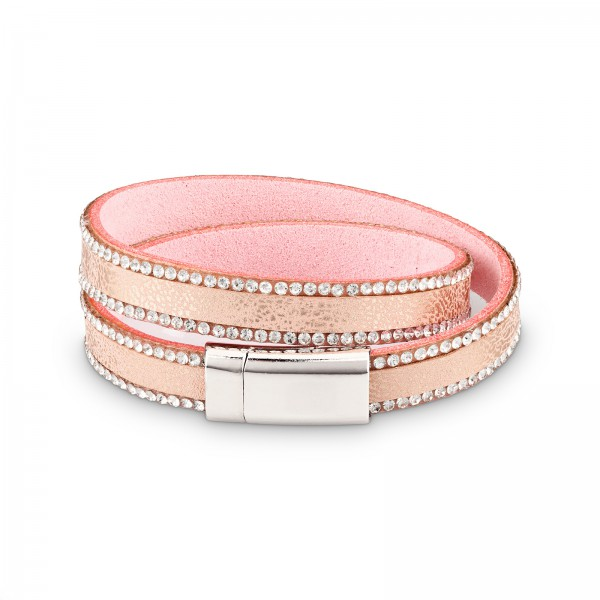 "Armband ""Shine"", rosa"