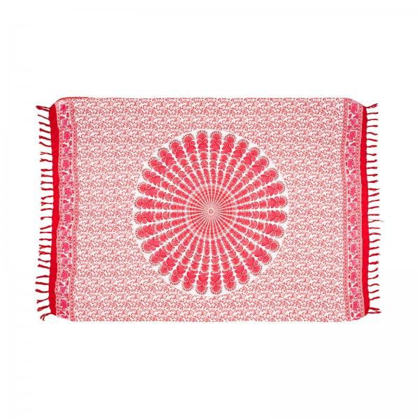 Sarong Eli Rot/Pink